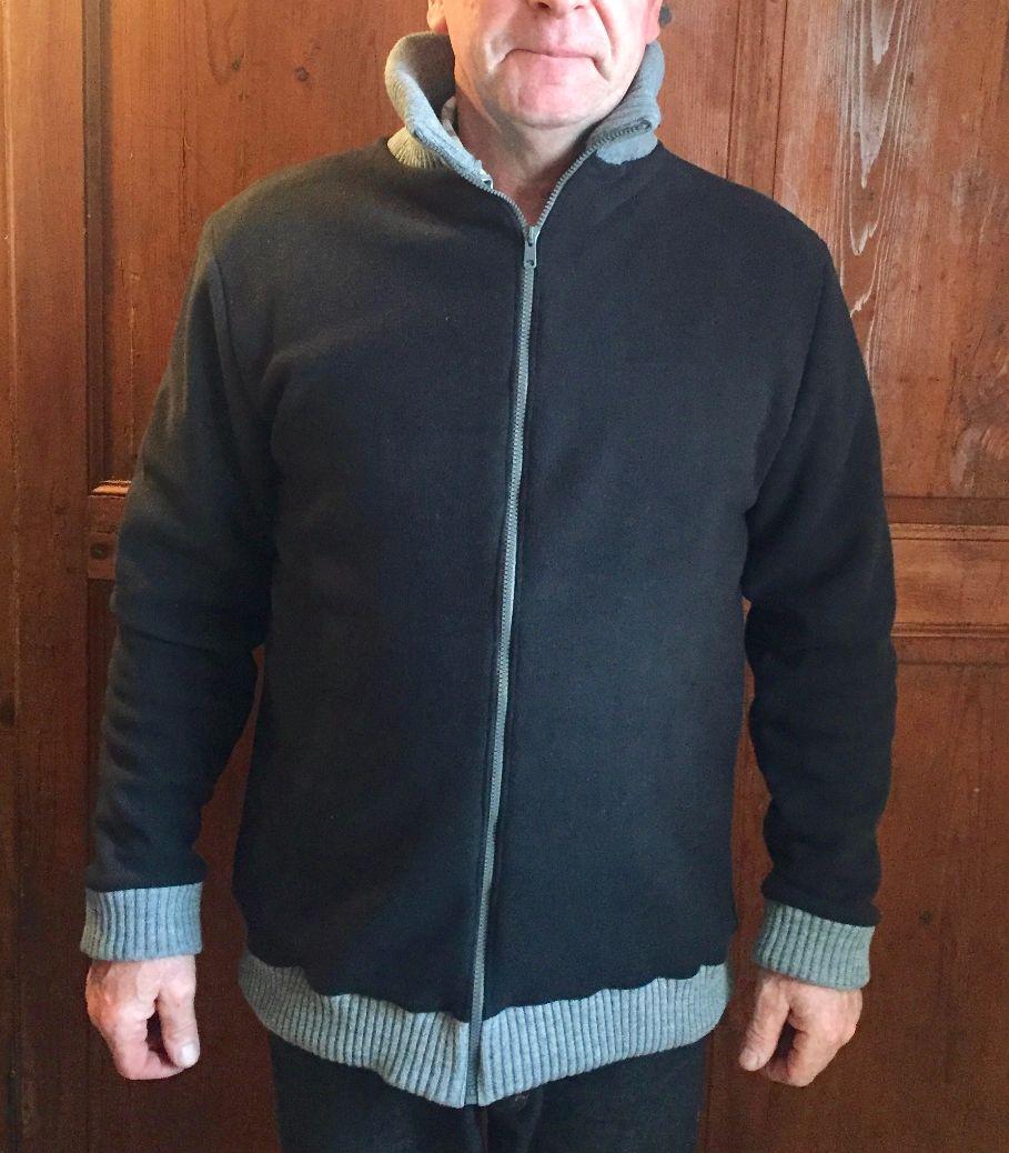 Cadeau de Noël: une veste pour mon beau-papa