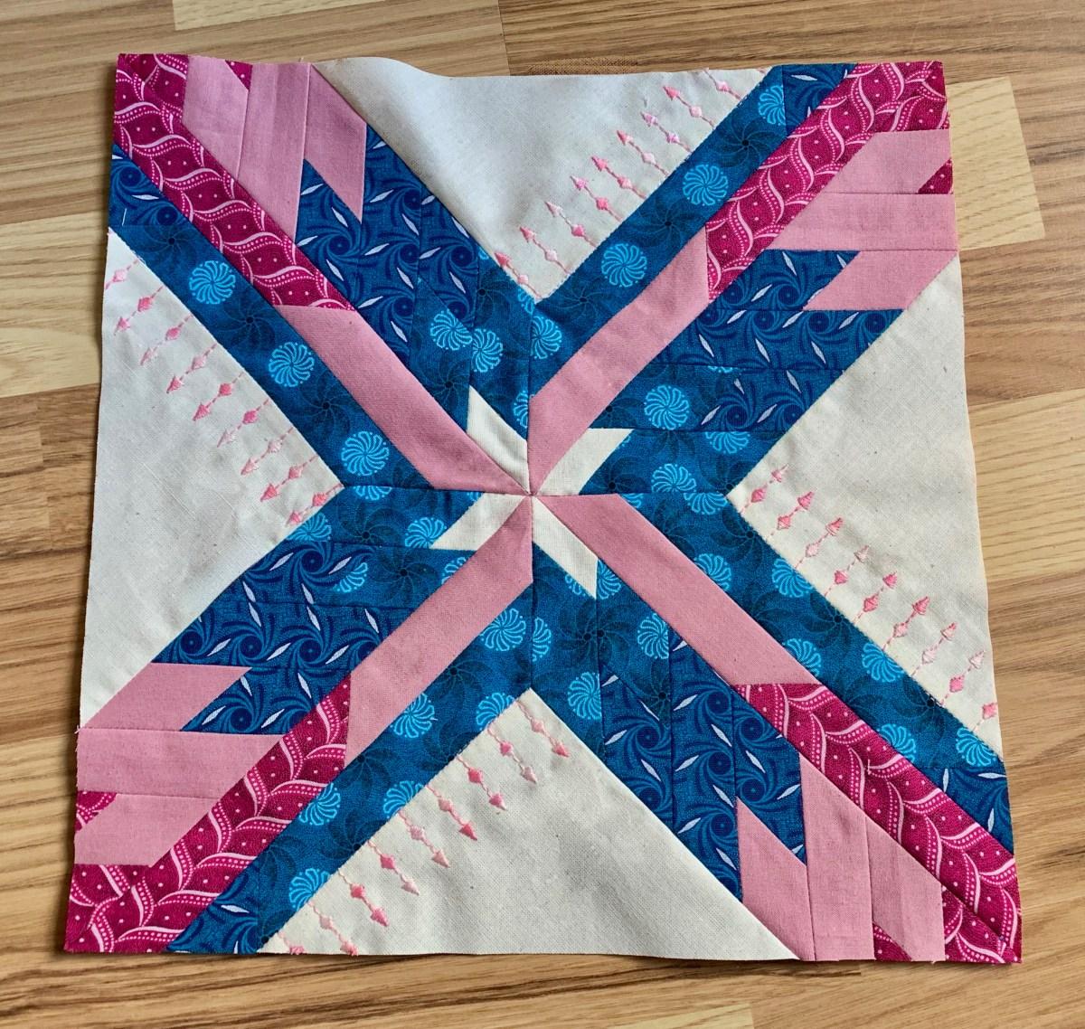 Mes premiers pas au patchwork