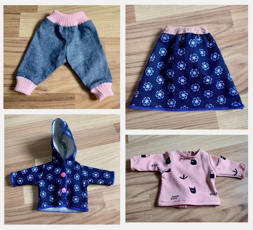 Cadeaux de Noël: des vêtements de poupées