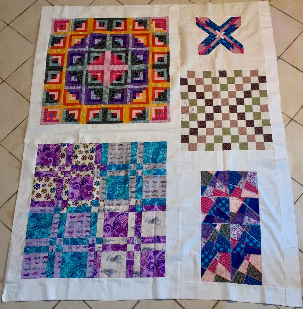 Mon grand patchwork