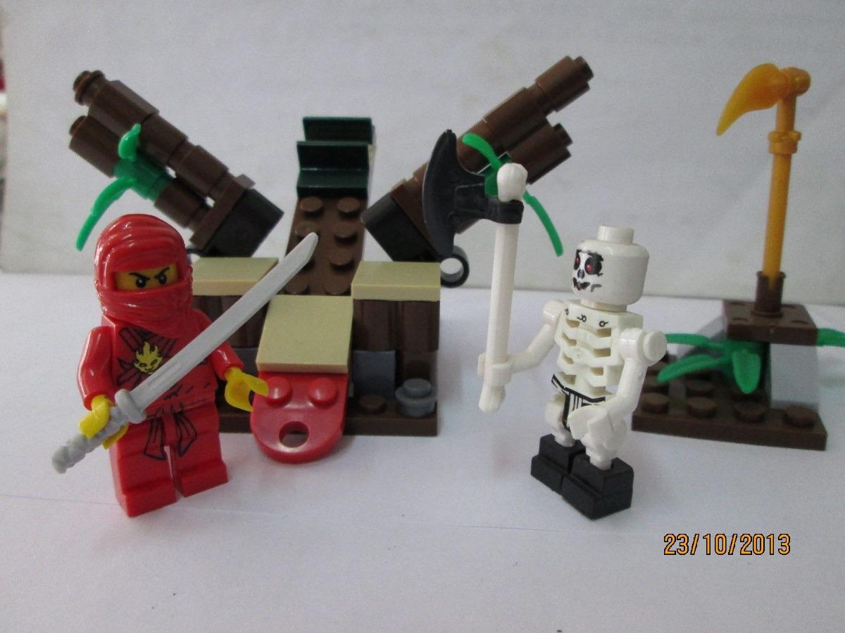 Lego Ninja Nuevo Con 72piezas