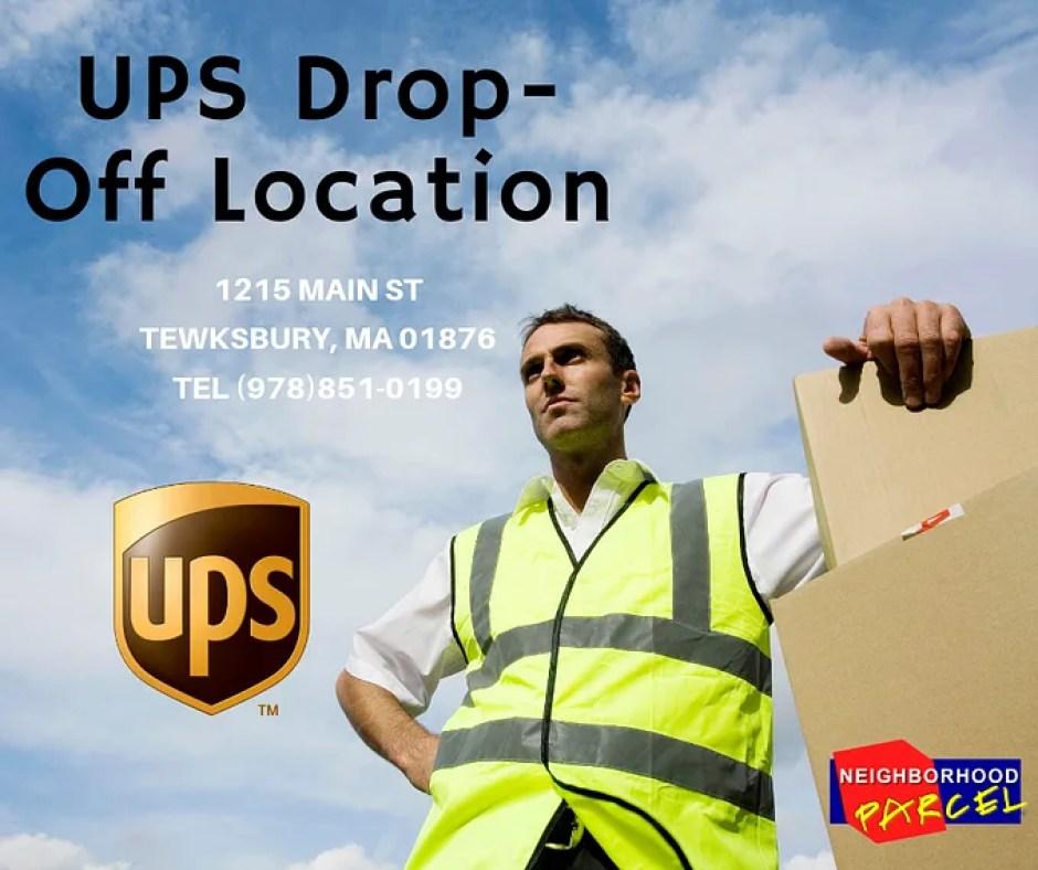 UPS Drop-Off Location Lowell MA