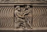 哲学家和缪斯女神雕刻石棺