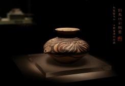 对鸟纹彩陶壶