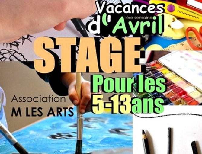 Flyer Stage Arts Plastique Enfants Avril 2017 Aix