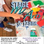 Stage M Les Arts octobre 2019