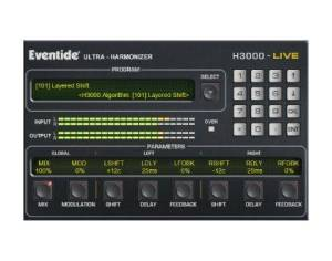 Eventide H3000 Plugin on Yamaha PM7