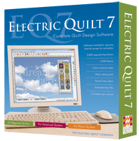 Deisgn software for quilts