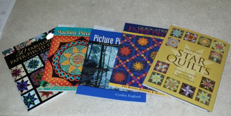 Books on Paper Piecing