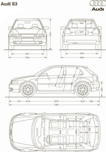 Audi A3 1996. - 2003.