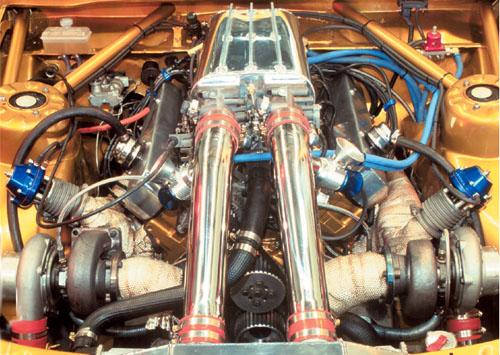 Paralelni twin turbo – motor Toyote Supre