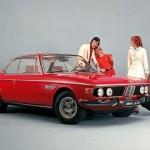 BMW CS E9 – Istorija