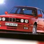 BMW M3 E30 – Istorija modela