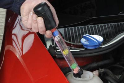 Danas u svakoj automehaničarskoj radionici postoji uređaj koji će vrlo precizno odrediti koja je tačka smrzavanja rashladnog sredstva