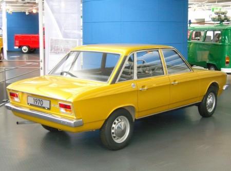 Auto je razvio NSU, a preuzeo ga je Folksvagen