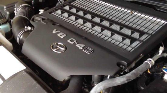 Toyota 4.5 V8 D4Dmotor