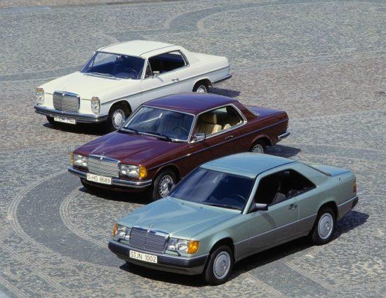 Lepota je nasledna: kupei W124, W123 i W114