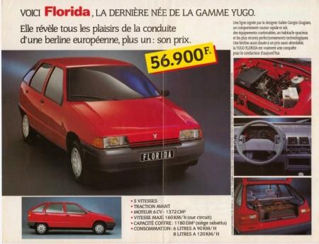 Florida se početkom devedesetih dobro prodavala u inostranstvu