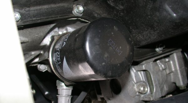 Mali servis - zamena filtera ulja
