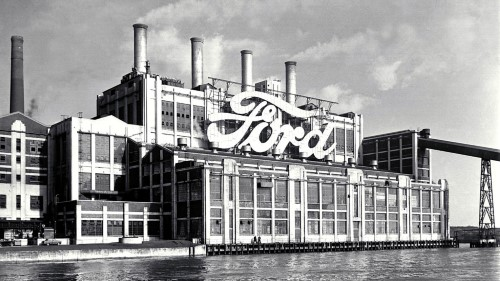 Ford fabrika