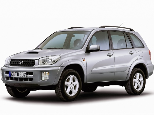 Toyota RAV4 2.gen. servis
