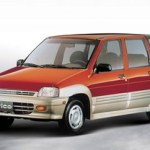 Daewoo (Chevrolet) Tico – propisane količine motornog ulja