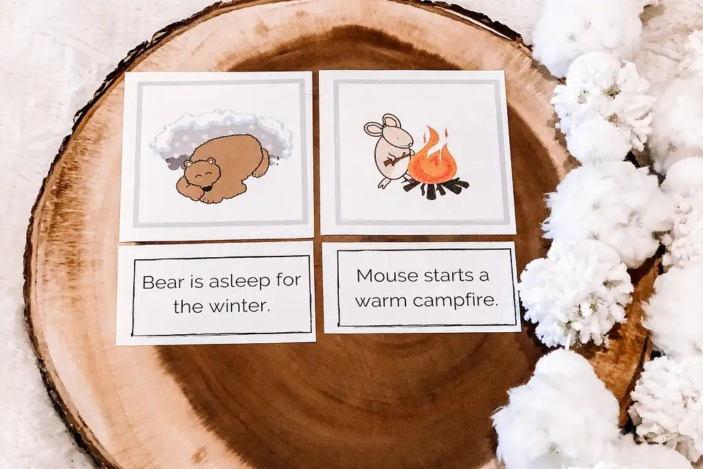 Bear Snores On Sequencing Cards Literacy Activity For Kids