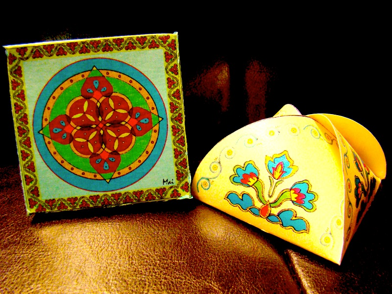 Decorative gift boxes (6/6)