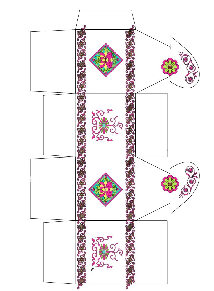 Decorative gift boxes (1/6)