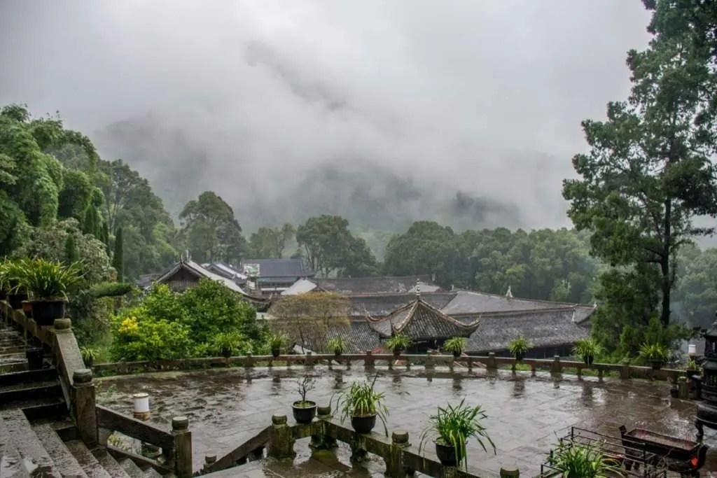 luoghi piovosi al mondo Sichuan Cina