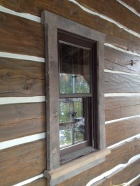 Decorating  Rustic Window Trim - Inspiring Photos Gallery ...