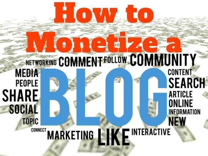 Comment monétiser un blog