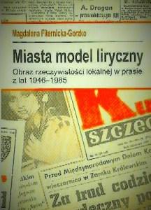 MIASTA MODEL LIRYCZNY- okładka