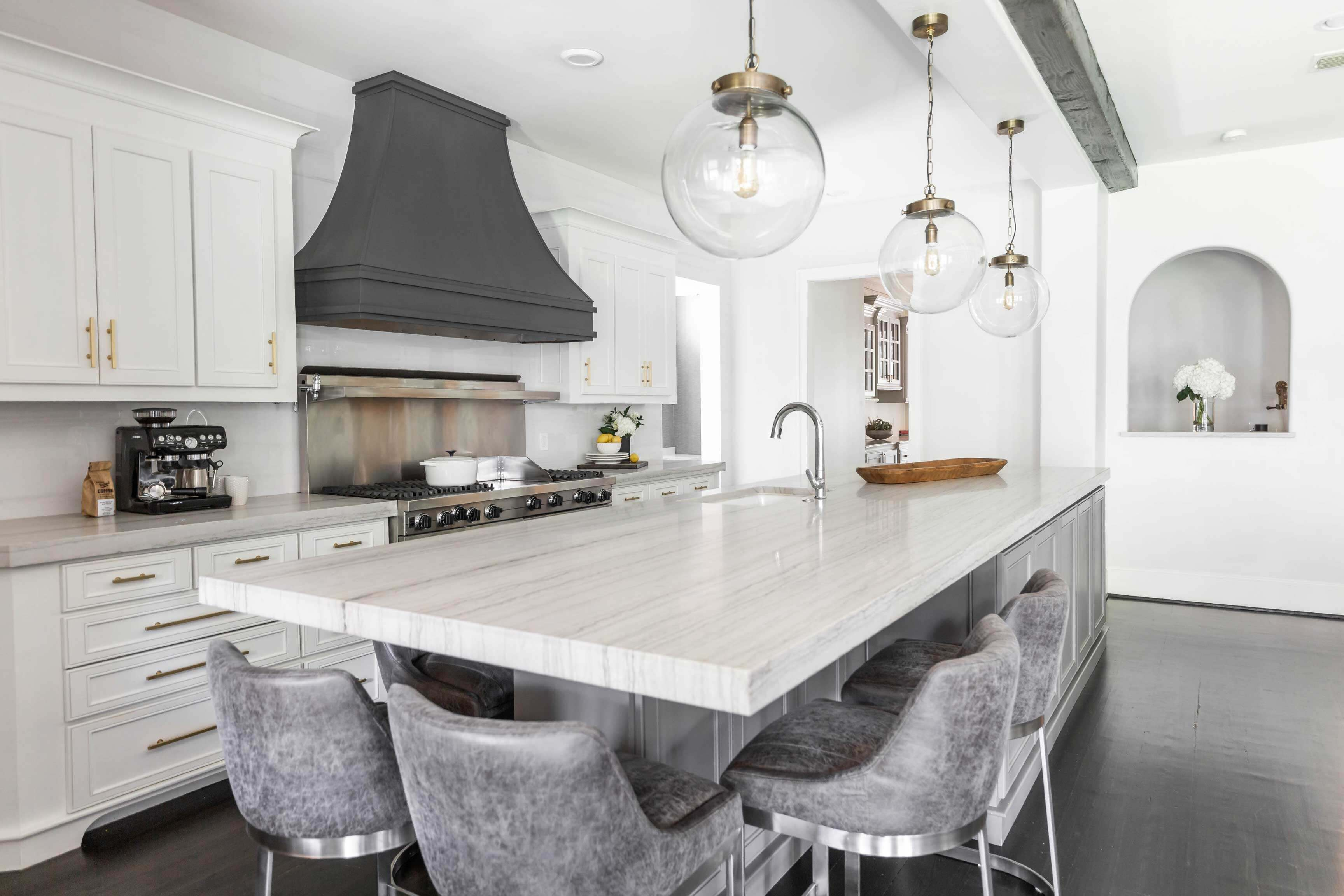 Design Your Ideal Kitchen Island With Seating And Storage Michelle Lynne Interiors Group