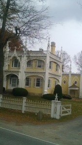 Wedding cake house in Kennebunk, Maine