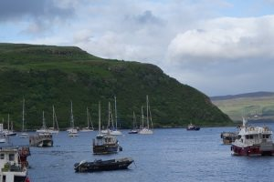 Isle of Skye harbor