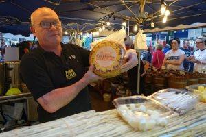 Hugh shows off sheep's milk Irish cheese