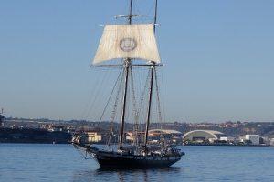 Tall ship the Californian