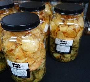 Kona Chips, my favorite potato chips