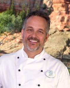 John State, Executive Chef, Food and Beverage Manager at the Disneyland Resort