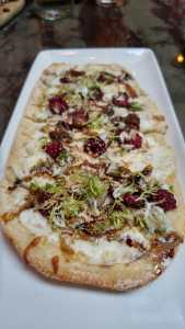 Blackberry flatbread