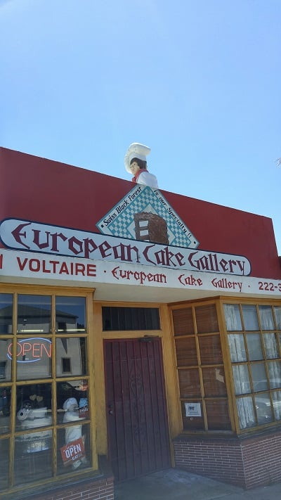 European cake gallery