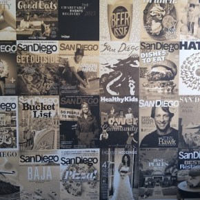 San Diego Magazine 65 years of rolling off the press