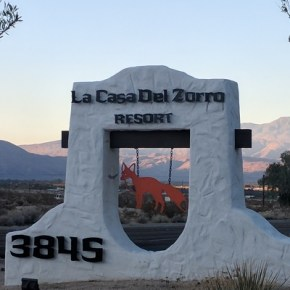 Borrego Springs is a classic town to visit