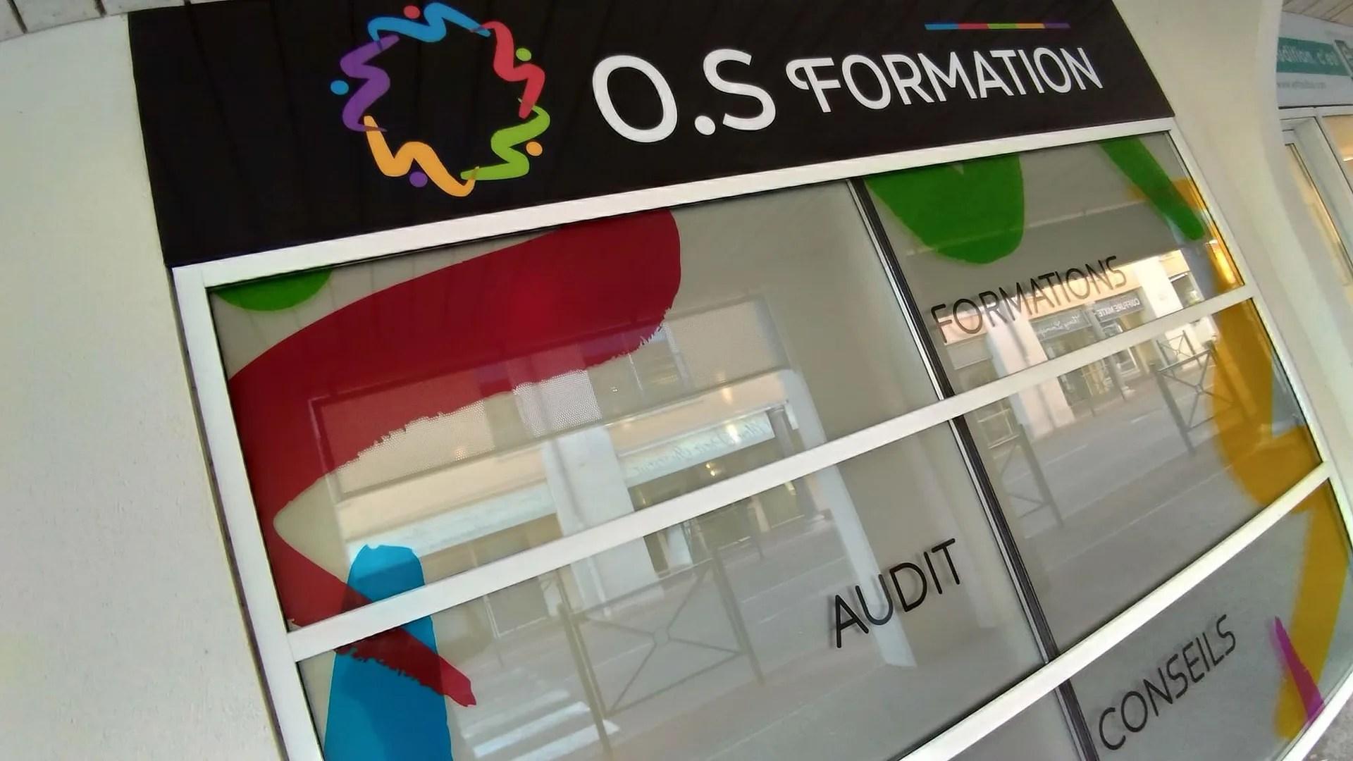 Agence Graphics Poseurs Vitrine Facade Signaletique Enseigne Bordeaux