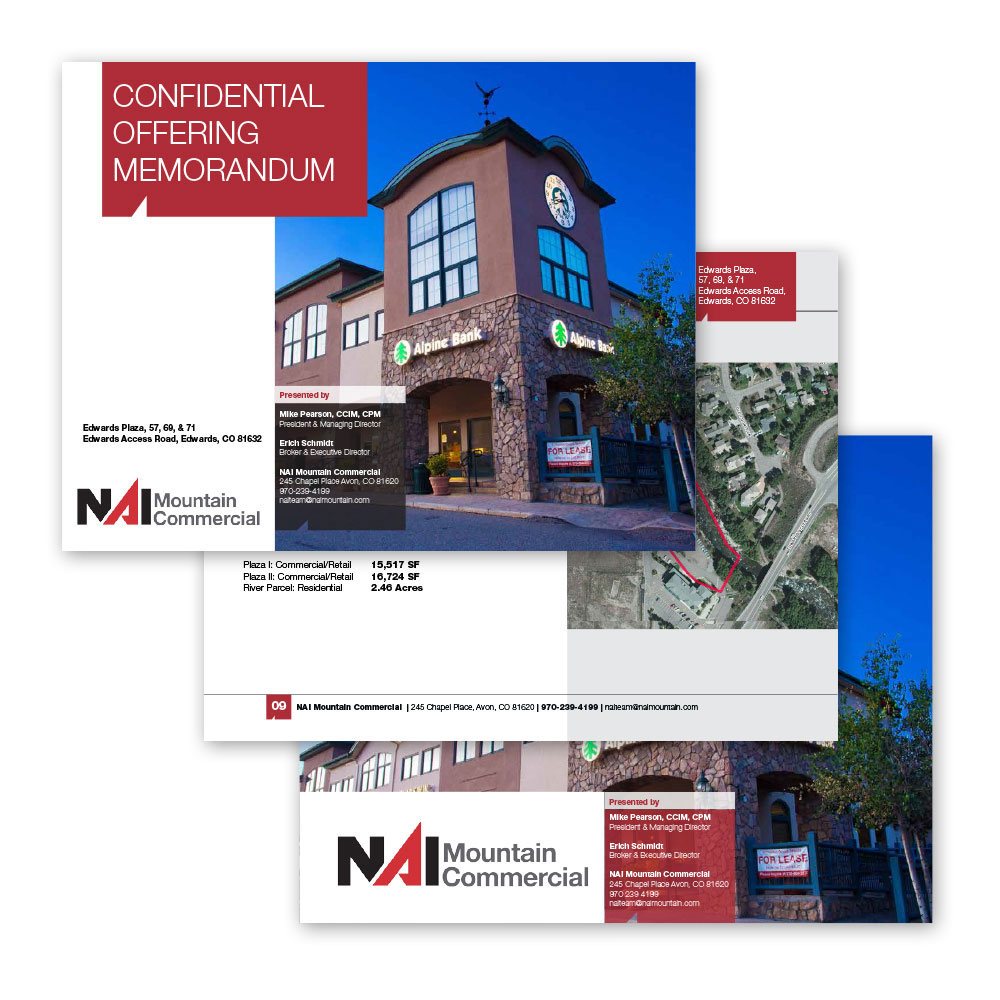 Commercial Real Estate Offering Memorandums ML Jordan