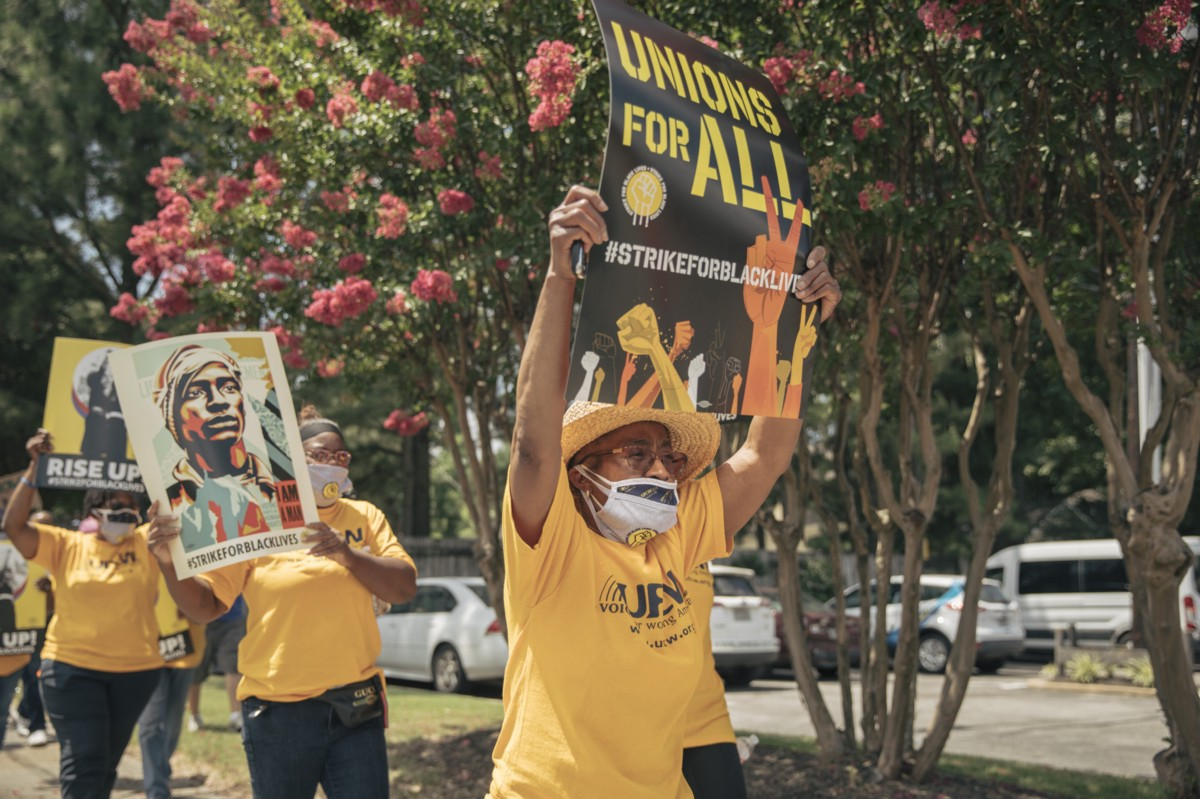 Protest in Memphis