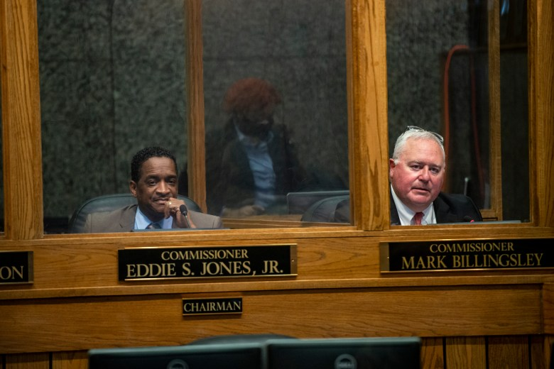 Shelby County Commissioners Eddie S. Jones Jr. and Mark Billingsley