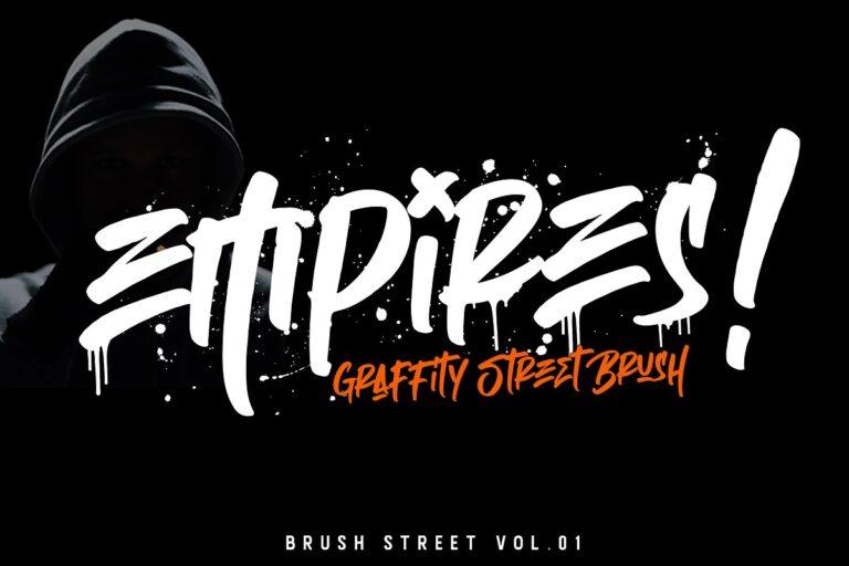 Empires - Graffitty Street Brush