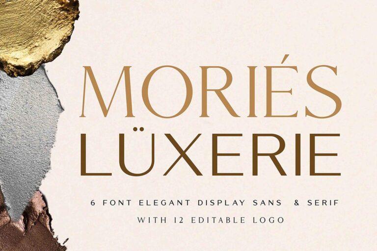 Mories Luxerie - Elegant Font Duo